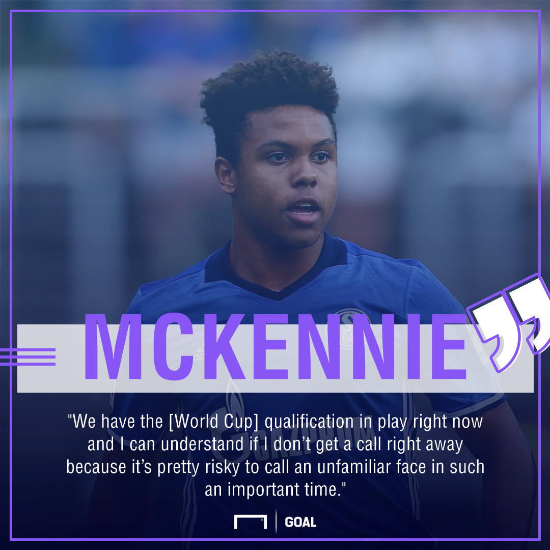 Weston McKennie USA quote