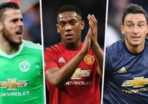 <p>Di antara klub-klub top Eropa lain, Manchester United barangkali punya pekerjaan rumah yang paling berat di musim ini. Di samping performa tim yang belum oke, United juga memiliki deretan pemain yang kontraknya akan kedaluwarsa di musim panas 2019.<...