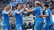 Hoffenheim celebrate vs Hannover