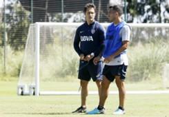 Carlos Tevez Guillermo Barros Schelotto Boca Juniors 2018