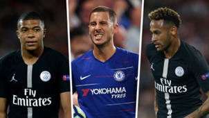 Hazard Neymar Mbappe Golden Shoe