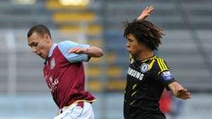 Graham Burke Nathan Ake Aston Villa U19 Chelsea U19 NextGen Series Final 01042013