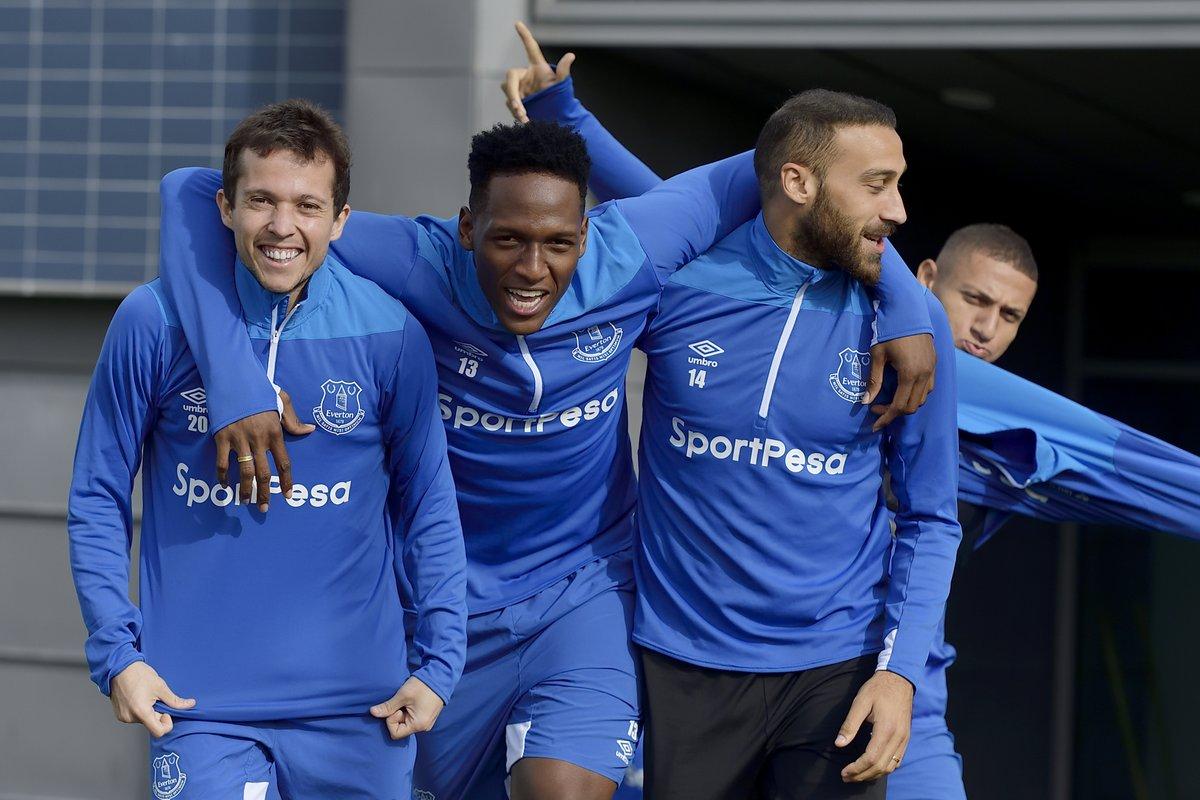 Yerry Mina Everton2018