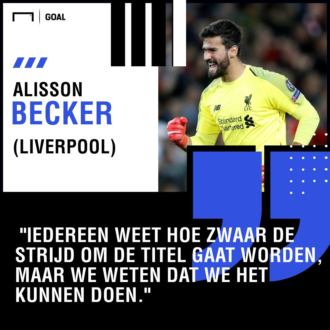 Alisson Becker Quotes Dutch 1