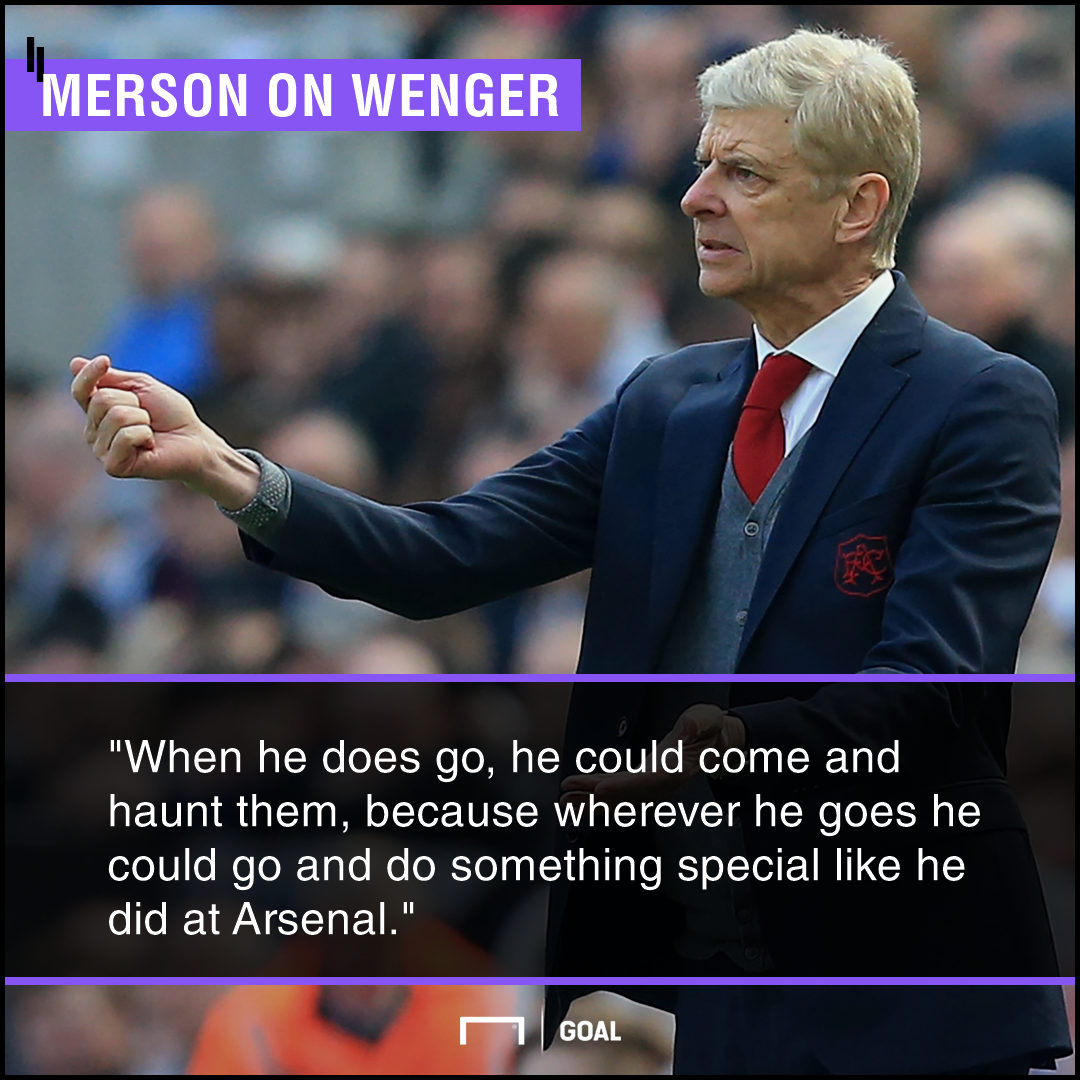 Arsene Wenger haunt Arsenal Paul Merson