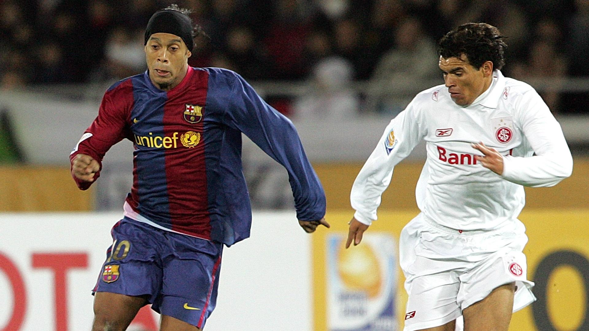 Ceará Internacional Ronaldinho Barcelona Mundial de Clubes