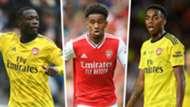 Pepe Nelson Willock Arsenal