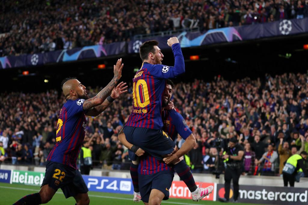 Arturo Vidal - Lionel Messi - Luis Suárez