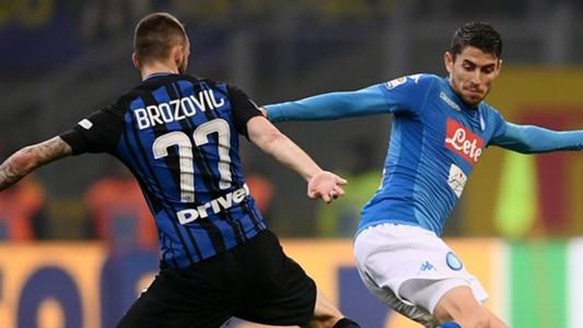 Jorginho Brozovic Inter Napoli Serie A