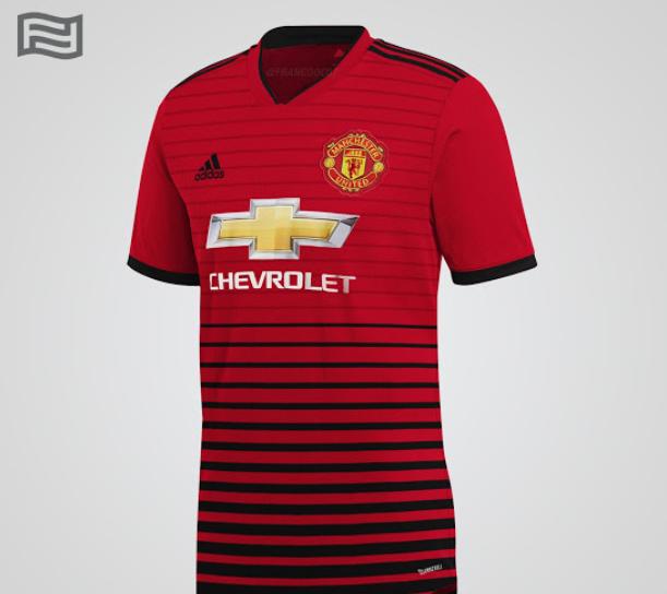 Posible camiseta del United
