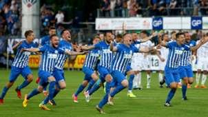 SV Meppen win promotion to 3.Liga 31052017