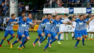 SV Meppen win promotion to 3.Liga 31052017