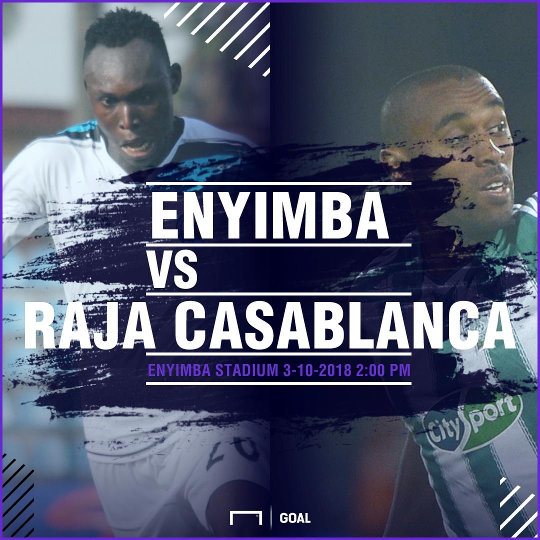 Enyimba Raja Casablanca fixture PS