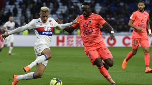 Mariano Diaz Alexander Djiku Lyon Caen Ligue 1 11032018