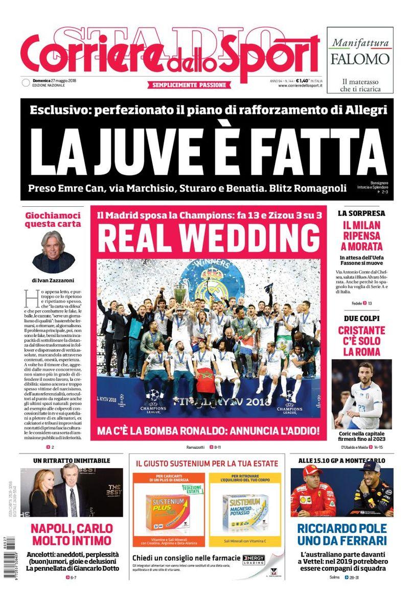Corriere dello Sport 27/5