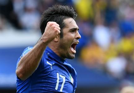 Eder scores for Italy Sweden Euro 2016
