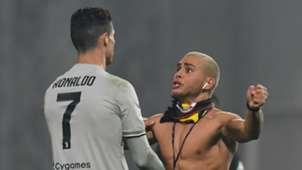 Cristiano Ronaldo, Juve fan vs Sassuolo
