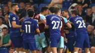 Chelsea brawl with Burnley