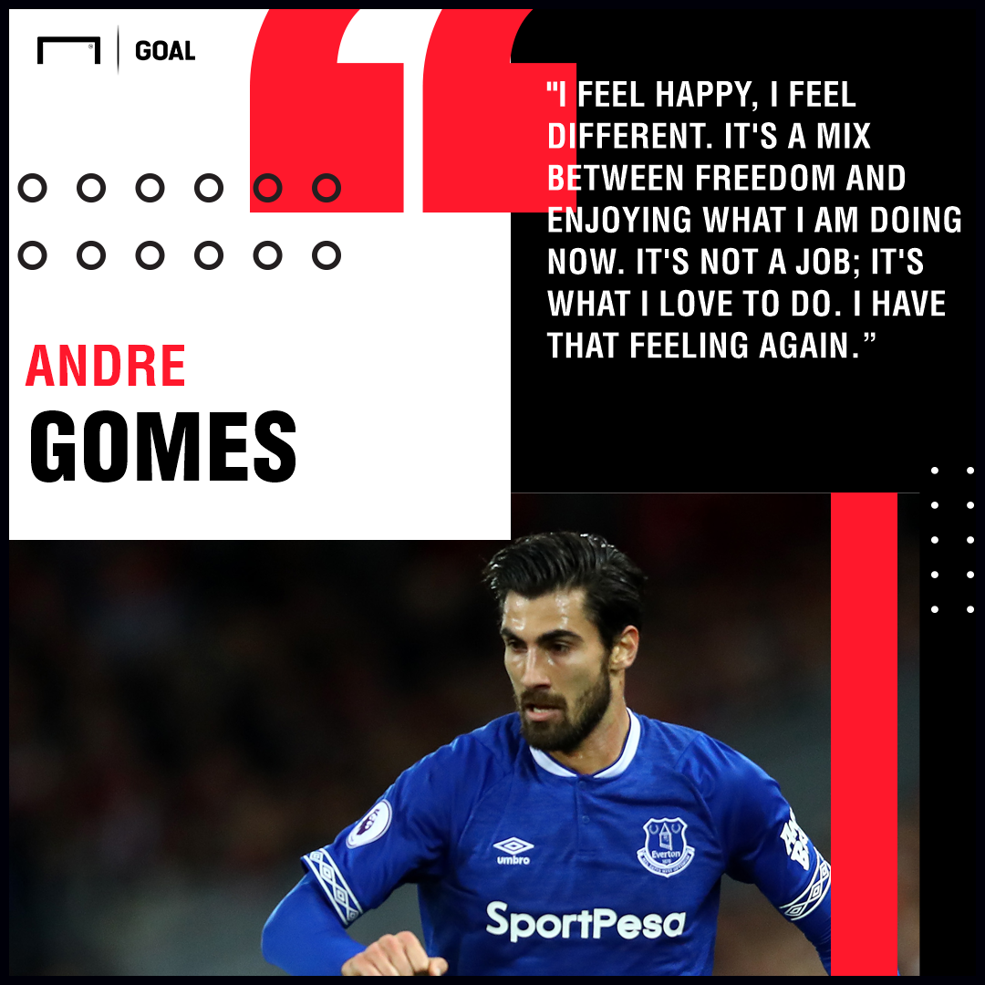 Andre Gomes Everton PS