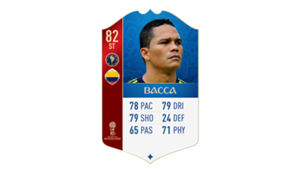 FIFA 18 World Cup CONMEBOL Ratings Bacca