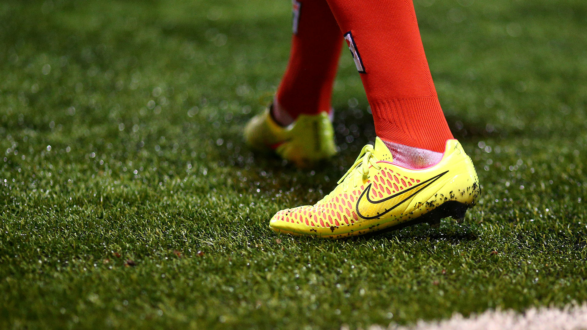 Football boots astro turf general view