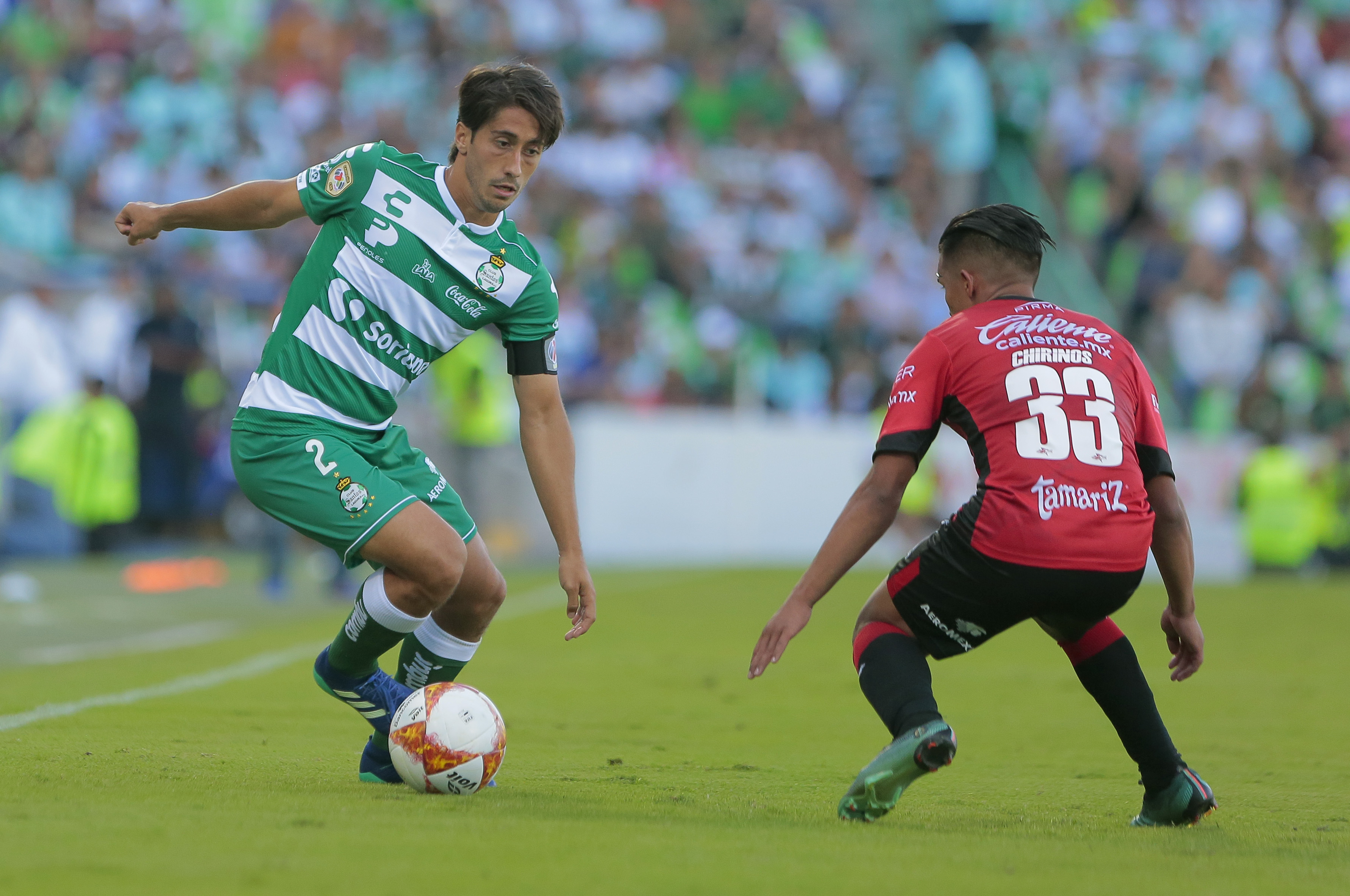 Jesús Abella Santos Liga MX Apertura 2018