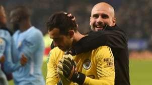 Pep Guardiola Claudio Bravo Manchester City EMBED