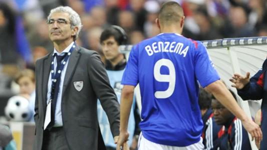 Karim Benzema Raymond Domenech France