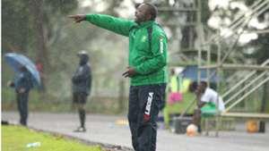 Zoo Kericho FC coach Sammy Okoth.