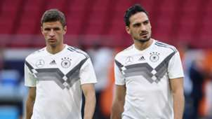 Thomas Muller Mats Hummels Germany