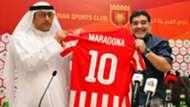Diego Maradona Fujairah 14052017
