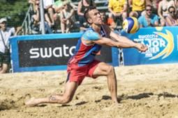 ivan perisic - beach volleyball 2017