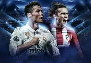 GFX Derby Madrid Semifinal Champions Leg 1 2017