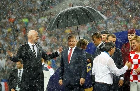 World Cup 2018 final Putin