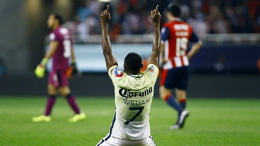 William Da Silva Club America Chivas Liga MX Liguilla 11272016