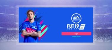 FIFA 19 Ultimate Team Login