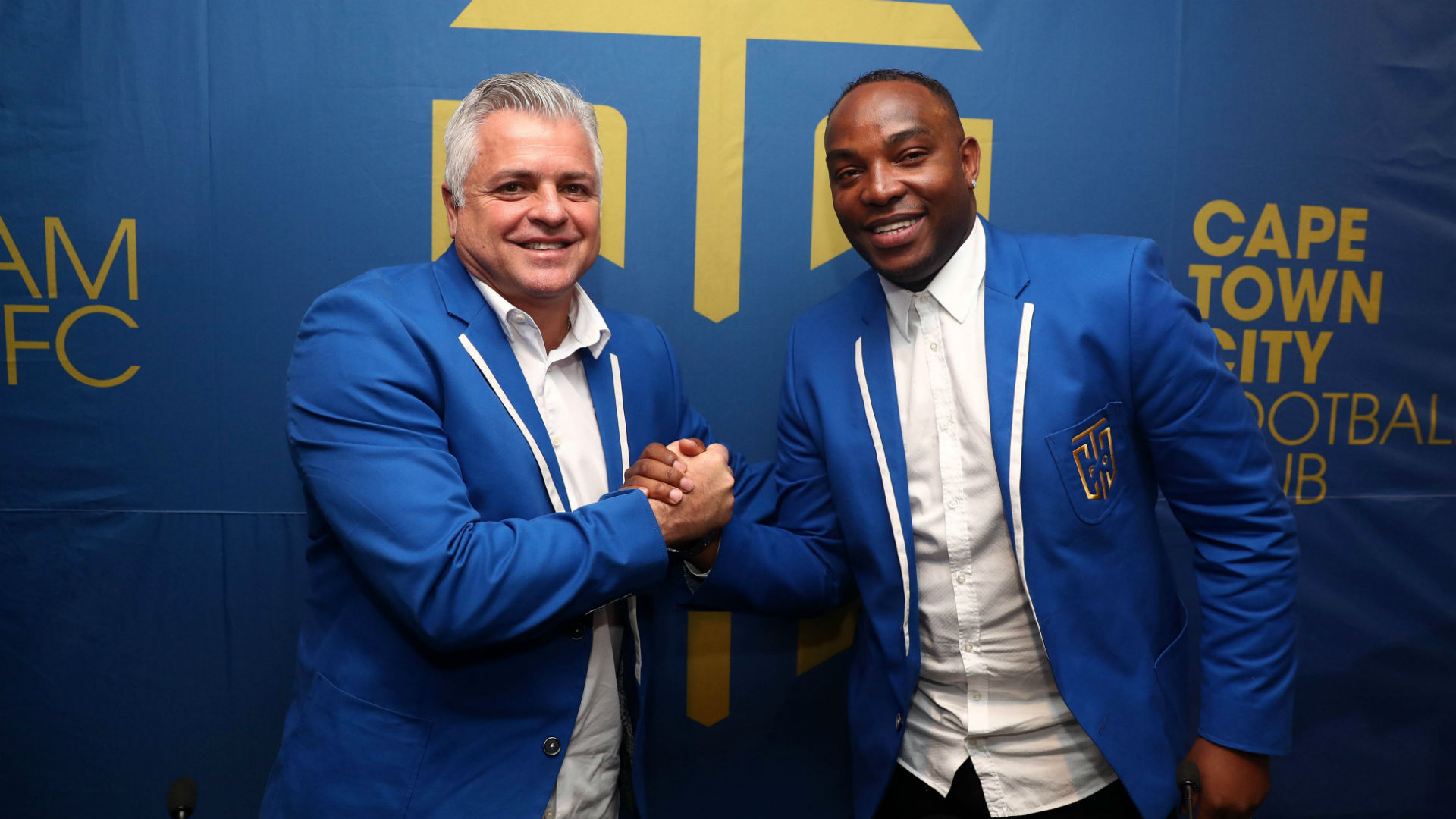 Benni McCarthy bags his first cup as coach
