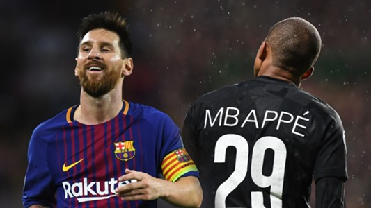 Lionel Messi, Mbappe SPLIT