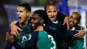 Tottenham celebrate 2018-19