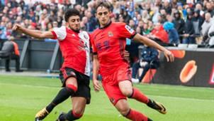Bilal Basaçikoglu, Adnan Januzaj, Feyenoord vs. Real Sociedad, 07292017
