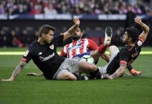 Iñigo Martinez Diego Costa Athletic Club Bilbao Atlético Madrid