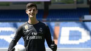 Thibaut Courtois Real Madrid Unveiling