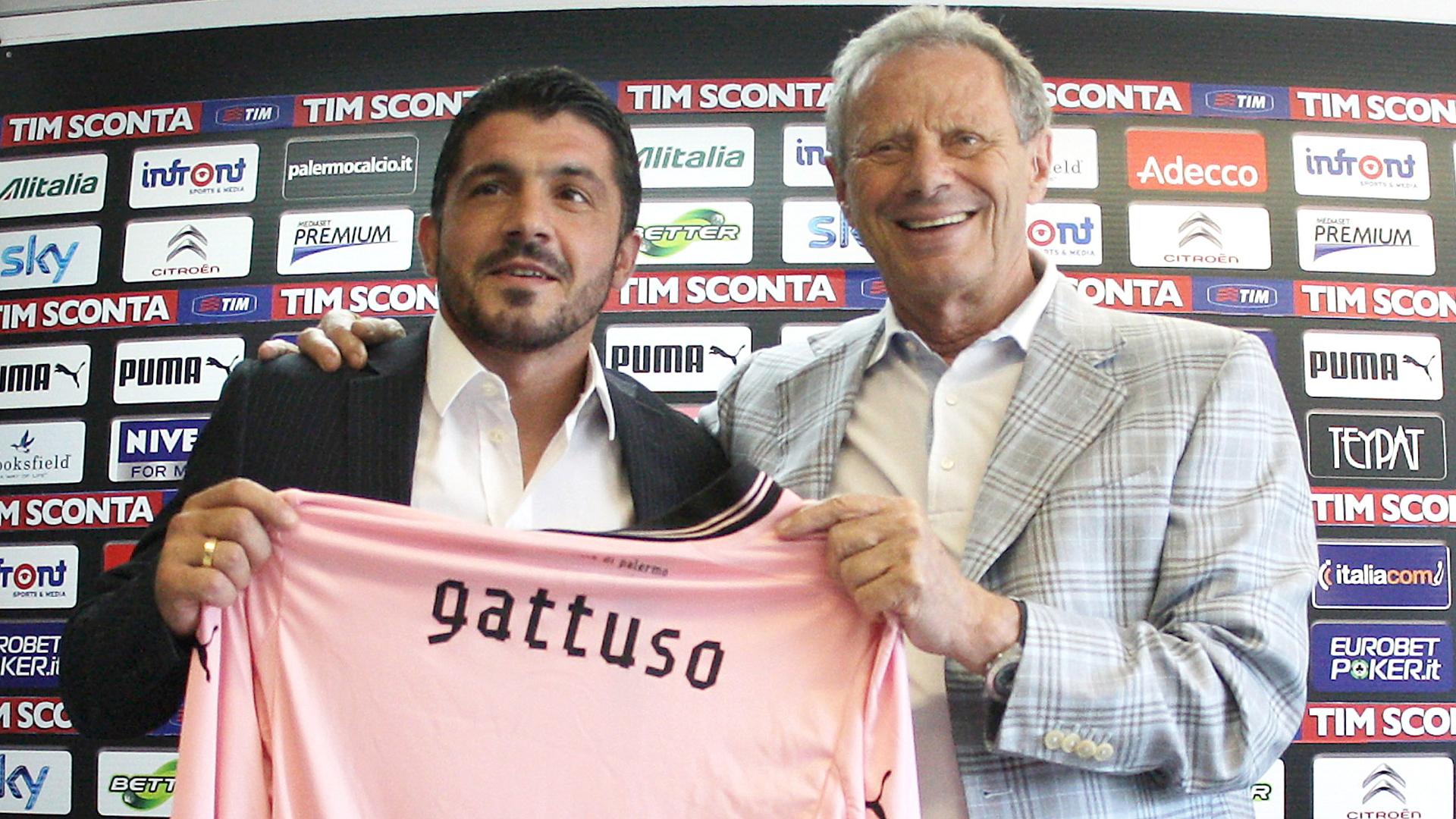 Gennaro Gattuso Zamparini Palermo
