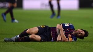 Lionel Messi FC Barcelona Sevilla 20102018