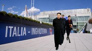 Kim Jong-Un Juventus Composite image