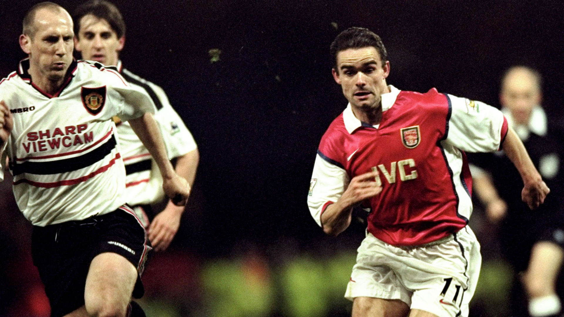Jaap Stam Manchester United Marc Overmars Arsenal 1998-99