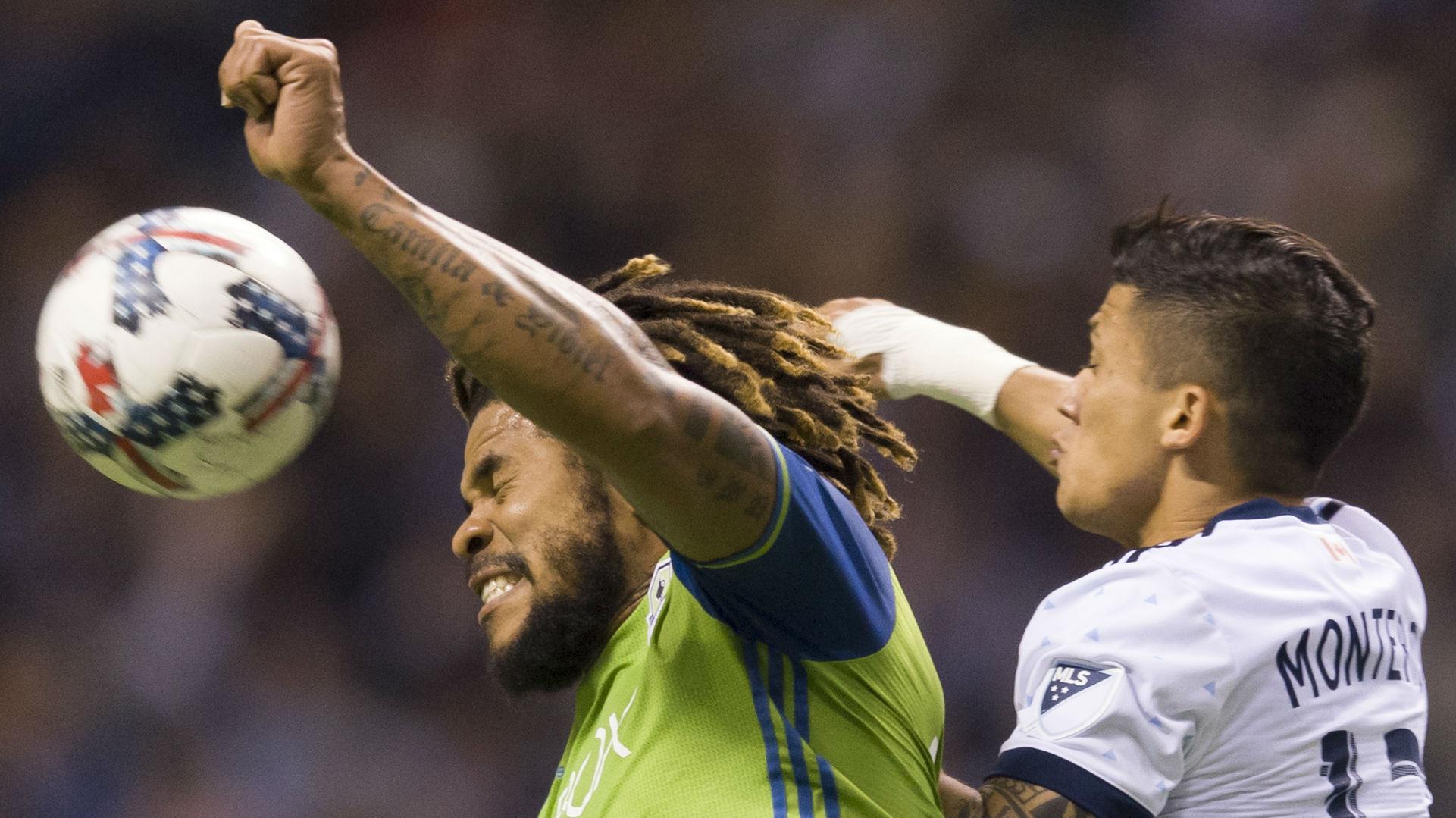 Roman Torres, Fredy Montero, Seattle Sounders, Vancouver Whitecaps, MLS