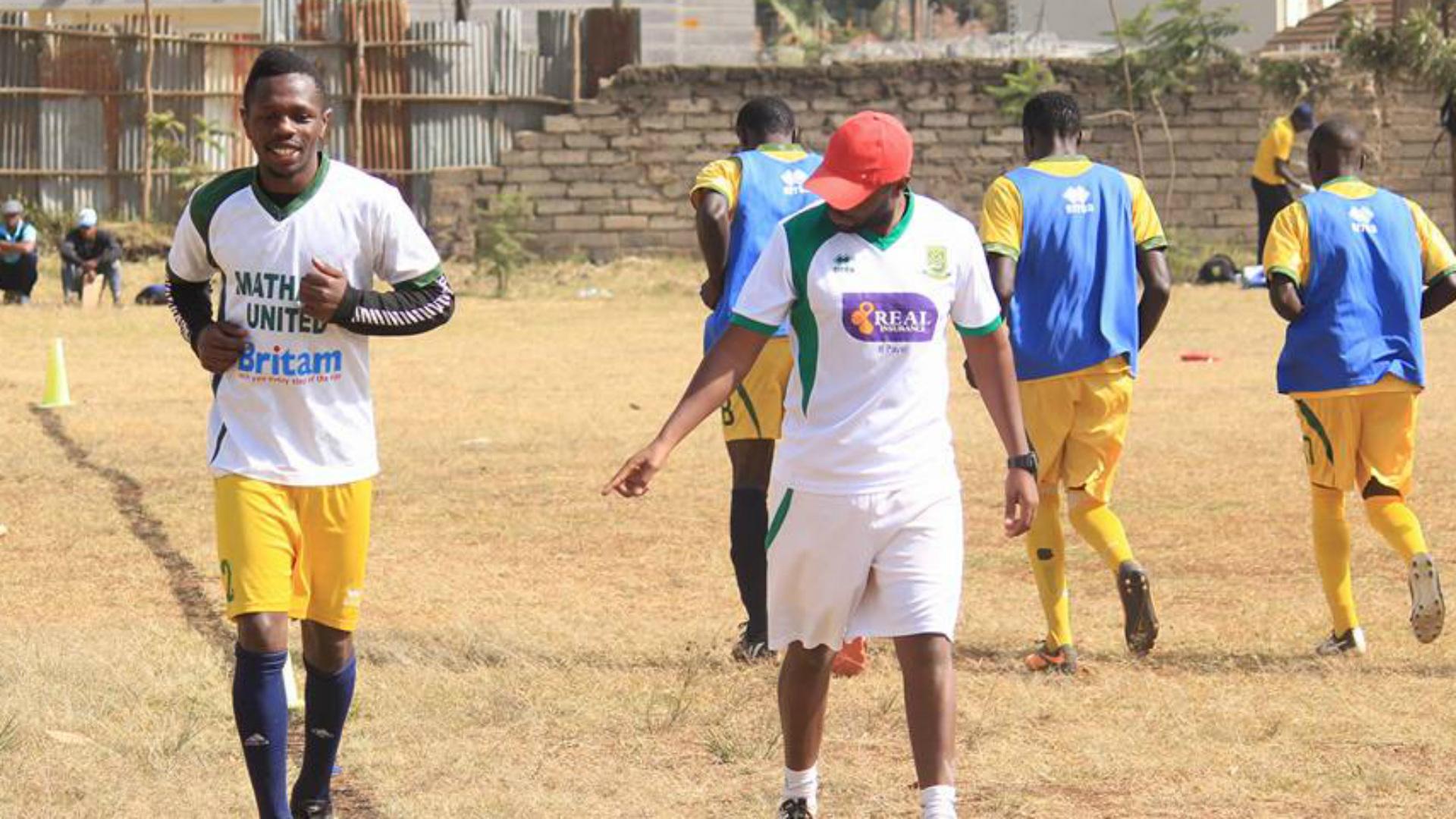 Mathare United Edward Seda