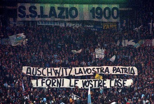 Stadionverbote für Lazio-Fans nach Anne-Frank-Aufklebern