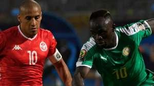 Tunisia Wahbi Khazri Sadio Mane Senegal